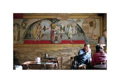 Cafe in Compostela (mantelle) Tags: iso200 superia fujifilm cs4 nikkor50mmf14 nikonf801 epsonv500 developedatlb35madrid