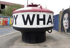 Trinity Buoy Wharf (surreyblonde) Tags: streetart london history boats docklands shipping buoy trinitybuoywharf