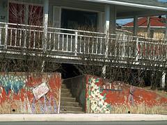 0007877 (Shakies Buddy) Tags: house wall painted steps nb veranda 200views railing saintjohn allrightsreserved nbphoto