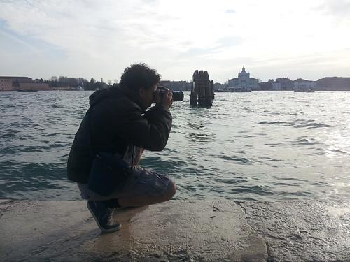 Avec José, à Venise