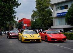 Ferrari California T, 458 Speciale A & F430 (Daniel Palestino) Tags: méxico ferrari f430 exoticcars carspotting californiat ferrarimexico laferrari ferrarimexicodf 458speciale specialea 458specialea 458specialeaperta specialeaperta ferraricaliforniatenméxico