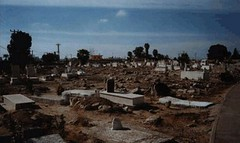 انفجار قنبلة في يافا تصيب شابين بجراح متوسطة (albaldtoday) Tags: غموض انفجار جراح مقبرة يافا شابان
