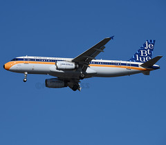 N763JB (MAB757200) Tags: jetblueairways a320232 n762jb retrojet whatsoldisblueagain jetliner jfk aircraft airplane airlines airbus runway31r