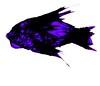 purple fish (Drew Daves) Tags: handdrawn sketch skin scales fins cream