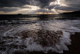 ドラマチックな海岸ーDramatic coast