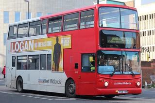 National Express West Midlands Dennis Trident 2/Alexander ALX400 4142 (Y736 TOH) (Wolverhampton)