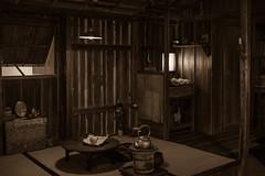 inside of Yukiko's cabin