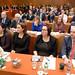 Delegates listen to Minister O'Donovan