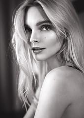Enly (Oooah!) Tags: diy estonia portrait enlytammela sexy lingerie ringlight model happy beauty gorgeous blacklingerie blondehair beautiful