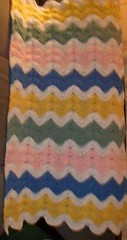 Helene' Johns (The Crochet Crowd) Tags: ripple crochet mikey yarn blanket afghan april redheart chevron challenge freepattern 2013 freecrochetpattern thecrochetcrowd oceanoceanwavesafghan