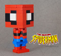 "Spiderman (Kristi ""McWii"") Tags: movie lego web spiderman hero comicbook figure superhero custom marvel cuusoo lilfig stranlee"