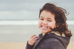 Smile Brezze (marywilson's eye) Tags: winter sea cute beach girl smile hair 50mm mar nikon toddler child julia wind air joy happiness playa viento nia invierno alegria sonrisa felicidad breeze aire cabello brisa d90