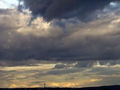 "Dramatic sky... (Vidar ""the Viking"" Ringstad, Norway) Tags: light shadow summer sky sun sol nature sunshine oslo norway clouds canon eos evening norge spring google europa europe flickr heaven cloudy sommer smoke horizon hill natur norwegen himmel images silouette 7d scandinavia lys forecast skyer bygdy vr huk kveld ryk vren solskinn natureshot skygge skandinavia horisont siluett overskyet s naturepic naturbilde vidarringstad"