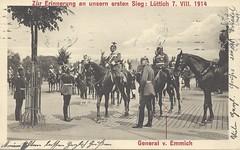 ps3261 (joerookery) Tags: general worldwarone kaiser ww1 1wk 1914 worldwar1 weltkrieg lüttich wilhelmii vonemmich