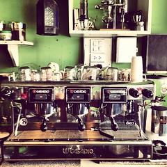 ทำกาแฟสด #เครื่อง #coffee #freedom #goto #ร้านกาแฟ #chill #chiangrai #thailand #instapic #instacool #instagood #intothewild