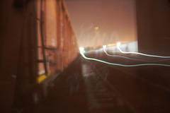 (No Real Name Given.) Tags: railroad light adam art night yard train bench graffiti long exposure shot streak fat rail trail dreams boxcar hobo freight epidemic moniker