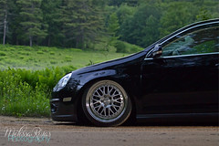 Sophia | MKV TDI (missamagnificent) Tags: tdi outside outdoors golden diesel air low stretch hour jetta stance camber tuck mkv ccw bagged mk5 staggered lm20
