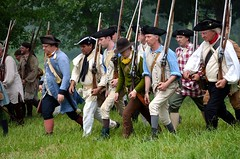 Revolution_163 (Sharp Perspective Photography) Tags: history colonial british reenactment colony musket firelock