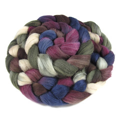 Intrepidity - 8020 MerinoSilk (Into The Whirled) Tags: wool silk merino spinning fiber bfl itw masham intothewhirled