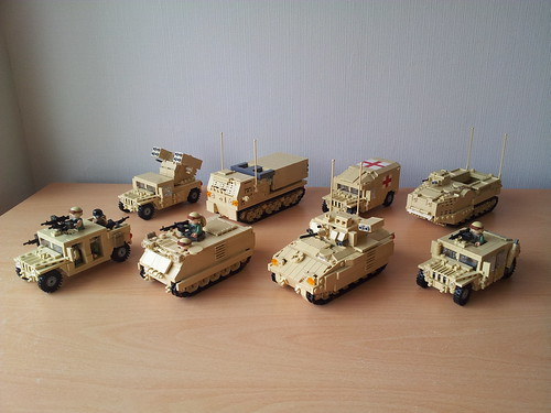 Modern Military Vehicles