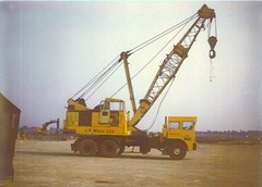 J.D.White Split Cab Foden (71B / 70F ( Ex Jibup )) Tags: mobile crane head boom block chassis hook derrick root heavy jib strut sections slew ballast lifting hoist telescopic counterweight outriggers