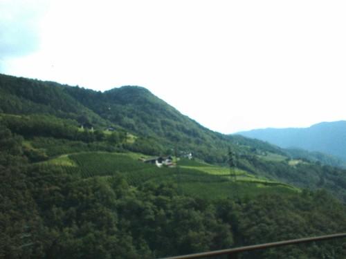Por el Danubio. Austria. El Tirol . Paisaje