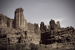 Fisher Towers (San Francisco Gal) Tags: nature landscape utah sandstone desert formation geology sedimentary fishertowers utahstate128