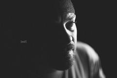 Day Twenty One (Will (Certified Ninja)) Tags: shadow portrait blackandwhite bw me monochrome self canon indiana evansville wescott strobist ef35mmf14lusm 580exii 5dmarkii 5d2 5dmkii willstewardphotography