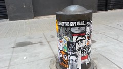 360 of the DosNoventa piece (Hot Rod(R)) Tags: barcelona street art sticker king kim gorilla stickers super il bicycles dos collab bomb lots ror skully jong combo combos slaps snaw rezzo noventa skam stickerbomb steezy stickerbombing noxin astronot dcoi fuxus fujikill kgatl stickerporn fvxvs snawlax combobs