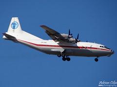 Meridian Avia --- Antonov An-12BP --- UR-CGW (Drinu C) Tags: plane aircraft sony dsc mla antonov an12 lmml urcgw hx100v meridianavia adrianciliaphotography
