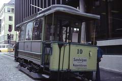 JHM-1977-1149 - Norvège, Bergen, ancien tramway (jhm0284) Tags: norvège norvege