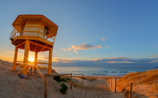 Sunrise, Wanda Guard Tower
