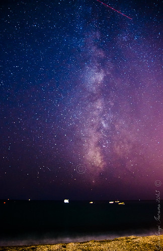 Milky way in ischia 2