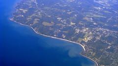 Lake Erie II (oobwoodman) Tags: usa lake newyork lakeerie aerial greatlakes angola luftaufnahme aerien evanscenter cunyyz