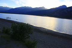 Jasper Lake, Jasper National Park, Jasper AB (Anuranjan Roy) Tags: canada jasper banff