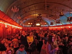 The crowd at the Save Lewisham Hospital Victory Dance in the Rivoli Ballroom (Andy Worthington) Tags: london politics protest nhs ae hospitals croftonpark politicalprotest andyworthington rivoliballroom lewishamhospital savelewishamhospital lewishamae vision:night=087