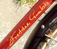 Freddie Grubb bicycle saved. (The bike guy !) Tags: road london classic bike bicycle cycle freddie grubb saddle brooks racer wirral merseyside heswall greasby sw20 kinlan uploaded:by=flickrmobile flickriosapp:filter=nofilter