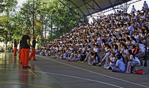 En una escuela