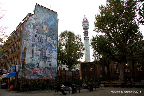 Graffiti and BT Tower