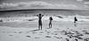 Us against the world (. Jianwei .) Tags: travel sea vacation beach kids hawaii back surf sony wideangle honolulu sandybeach nex kemily nex5