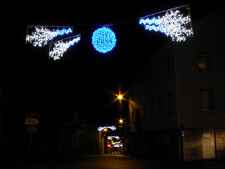 Montfaucon-en-Velay (43), illuminations 2010