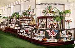Fields Confectionery_VO1998 (LCFPD) Tags: chicago retail shopping postcards marshallfields departmentstores teicharchives
