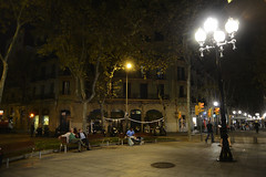 Barcelona, Catalonia, Spain 28/10/2013 (Gary S. Crutchley) Tags: barcelona life street night dark spain nikon europe nightscape shot nightshot image time catalonia after nightphoto nikkor vr afs d800 ifed nightimage 24120mm f3556 nightphotograph