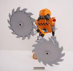 Bricknave Industries Cutter (split function) (Bricknave) Tags: lego walker mech moc bricknave bricknaveindustriescutter