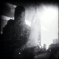 single digit days (shooting all the buildings in Manhattan) Tags: newyork architecture manhattan broadway esb empirestatebuilding iphone 2014 shrevelambandharmon