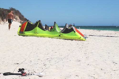 Kite Surfing Perth Dec 2013