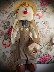 Elias (Sonhos de Tecido) Tags: artesanato coelho decoração pascoa