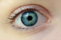 Color of The Sea (Shanna Roast) Tags: ocean blue sea macro green eye girl up yellow lens eyes nikon close lashes jana
