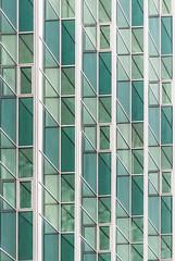The elevation I (Robert Stryjski) Tags: rytm rhythm elevation architektura architecture windows okna elewacja zielony green szkło glass kraków rakowice abstract geometric diagonal minimalism text texture building buildingstructure lines cracow