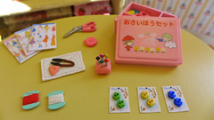 Blythe & Barbie Sewing Box